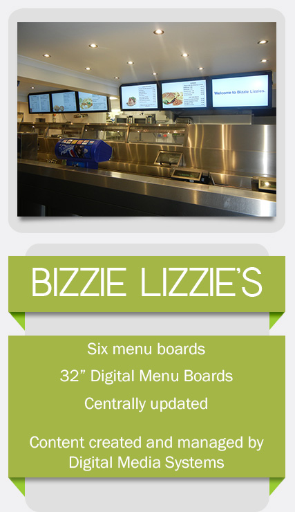 square VIEW Digital Signage Menu Boards