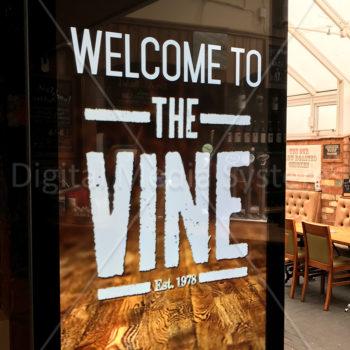 The Vine Menu Boards